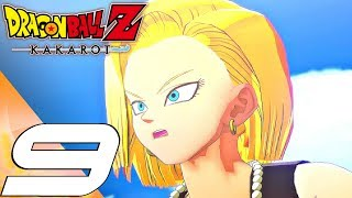 DRAGON BALL Z KAKAROT - Gameplay Walkthrough Part 9 - Android 17 & 18 Boss Fight (PS4 PRO)