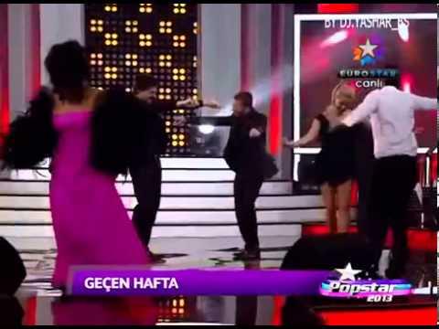 Pop Star 2013  Eylenceli Bolum '' Roman Havasi '' 26 04 2013
