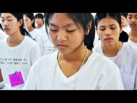 580122 DVDอบรมคุณธรรม โรงเรียนดัดดรุณี ม ๔ วันแรก วิทยาลัยสงฆ์พุทธโสธร กล้าแผ่นดิน วัดต๊ำม่อน เมืองพ