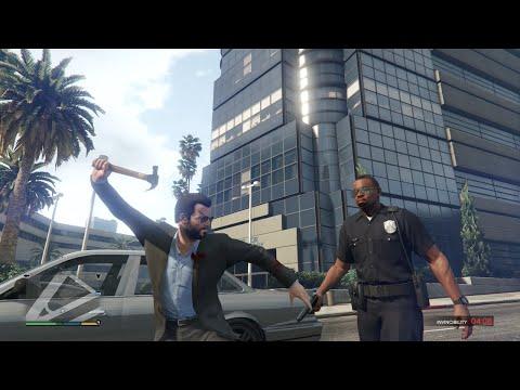 GTA 5 Funny/Brutal Kill Compilation Vol.60 (Police/Bulldozer/Trucks/Sniping)
