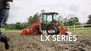 Kubota LX Series: Together We Do More