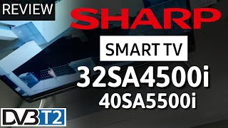 REVIEW LED SMART TV SHARP 32SA4500i & 40SA5500i indonesia HD