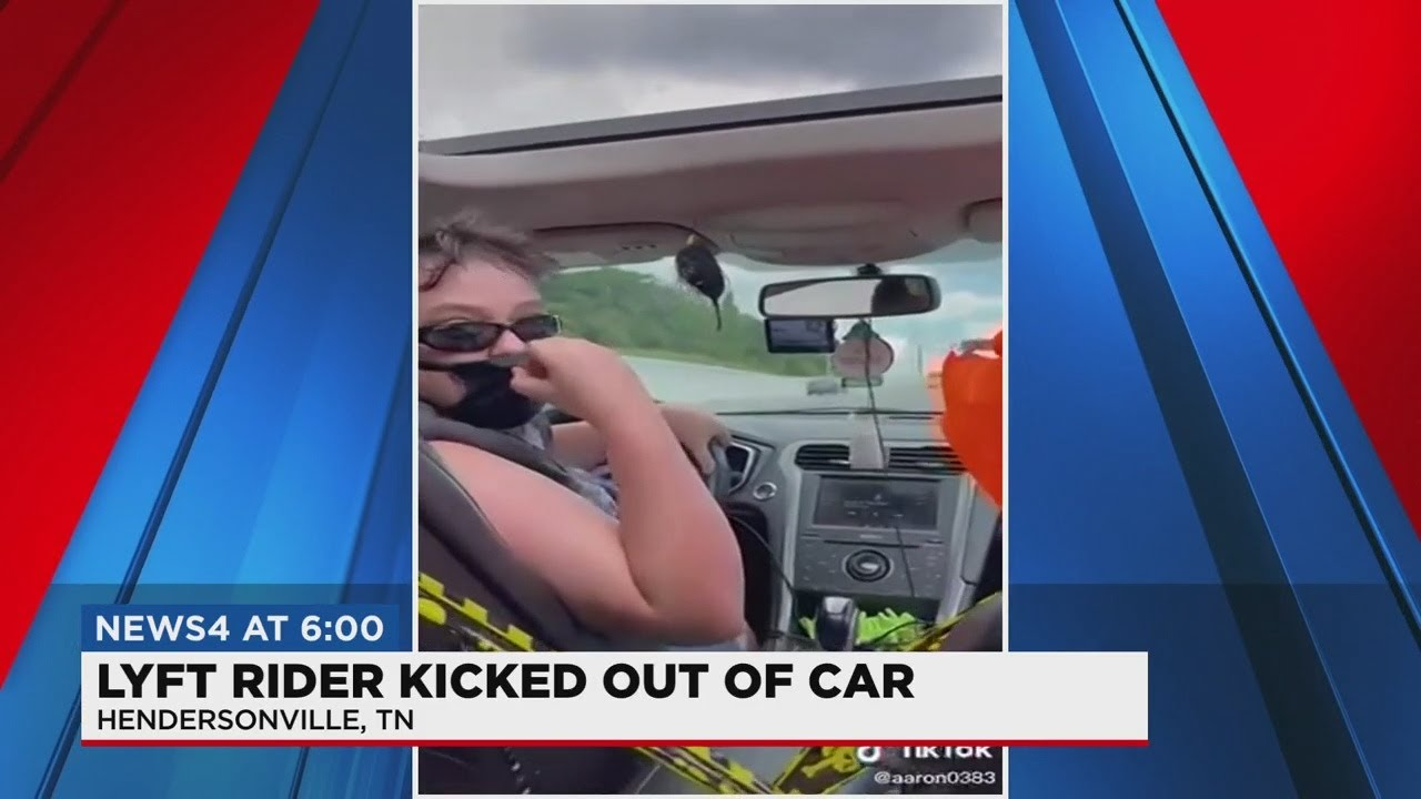 Lyft passenger kicked out on side of the road