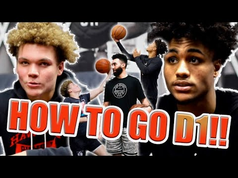 How To Get A D1 Scholarship! Life Of A D1 Athlete | Ryan Razooky