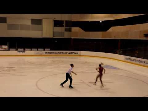 Windsor and Alexandrovskaya score 60.11 | Full Short Program 2016 Australian Figure Skating Champs