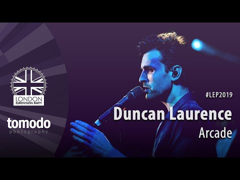 Duncan Laurence - Arcade [The Netherlands]  // London Eurovision Party 2019