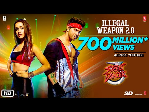 Illegal Weapon 2.0 - Street Dancer 3D | Varun D, Shraddha K
