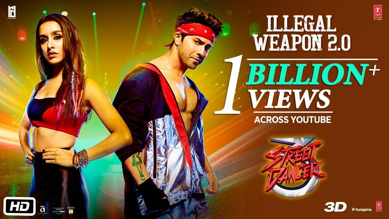 Download Illegal Weapon 2.0 - Street Dancer 3D | Varun D, Shraddha K | Tanishk B,Jasmine Sandlas,Garry Sandhu