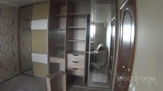 видео Встроенные шкафы-купе в гостиную