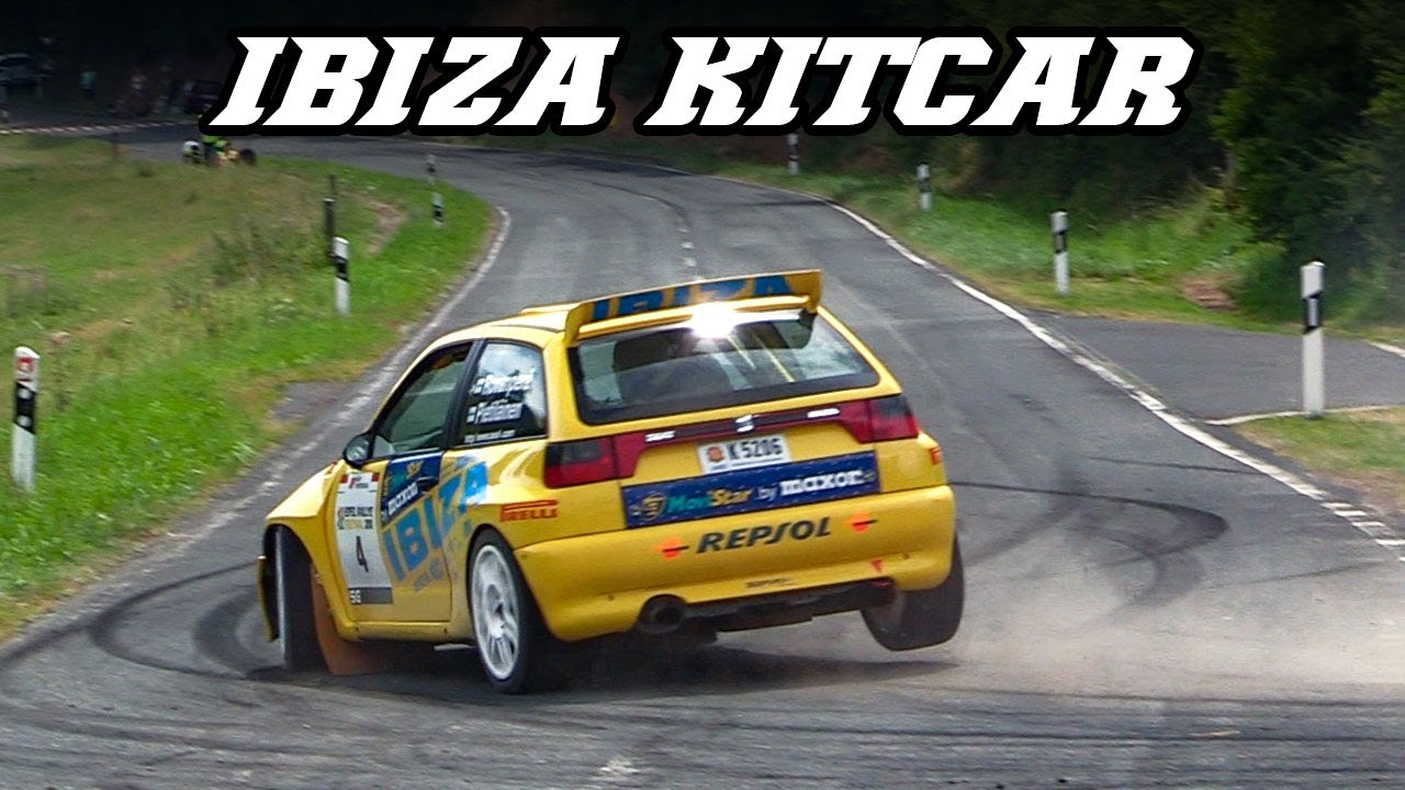 1998 Seat Ibiza kitcar   idle, intake and exhaust sounds
