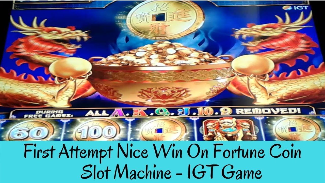Coins of Fortune Slots Machine