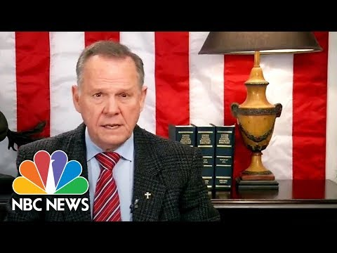 Roy Moore Refuses To Concede, Blames 'Baseless And False Allegations