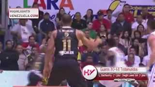 Highlights LPB 15/04 Guaros de Lara vs Trotamundos de Carabobo
