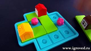 Три маленьких поросенка. Обзор настольной игры-головоломки от Игроведа