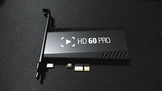 Elgato HD 60 Pro Unboxing! (Install + Hands On)