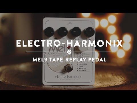 Electro-Harmonix Mel9 Tape Replay Pedal | Reverb Demo Video