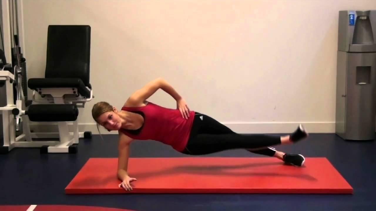 Prorun Core Stability Zijwaarste Binnenkant Dijbeen Oefening