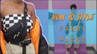 HOW TO STYLE FANNY PACKS | OOTW | THRIFTED LOOKBOOK