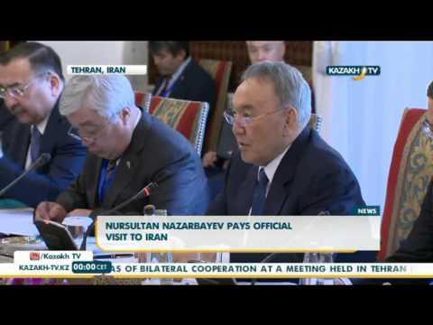 Nursultan Nazarbayev pays official visit to Iran - Kazakh TV