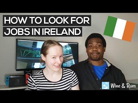 How to Look for Jobs in Ireland | Living in Dublin Ep.1 | Wine & Rum