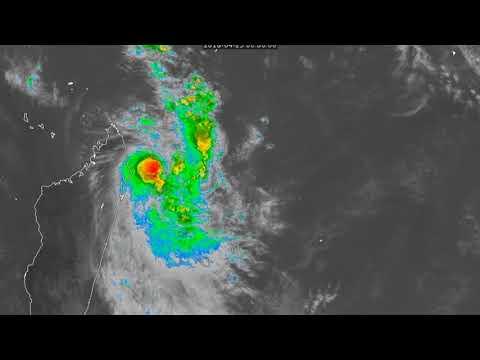 [Mauritius] Cyclone Fakir Update - 8pm MUT Apr 23, 2018
