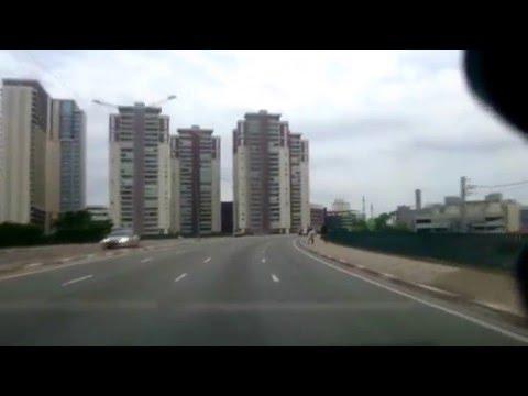 Driving in São Paulo, Brazil