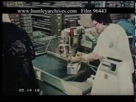 Supermarket Shop Chillicothe Ohio, 1970s - Film 96443