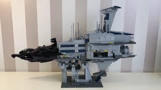 Lego Star Wars Custom Invisivle Hand Версия 1 (Незримая Длань) Обзор на русском