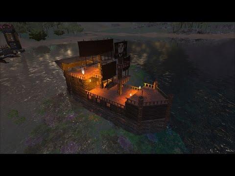 ARK survival evolved vanilla ship build tutorial