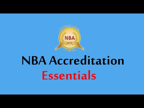 NBA Accreditation Process By Dr Rakesh Wats