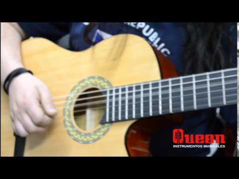 guitarra el ctrica santana cg 209 ce queen instrumentos On queen instrumentos musicales