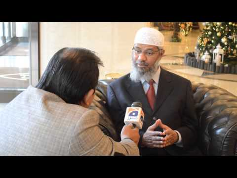 Dr Zakir Naik Interview for Geo News in Tokyo on 12th Nov 2015