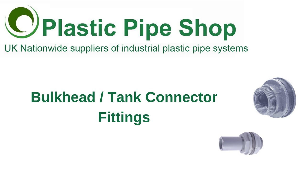 """1//2/"""" tank Bulkhead Pipe Joints bucket inlet outlet connector water tank drain L4"""