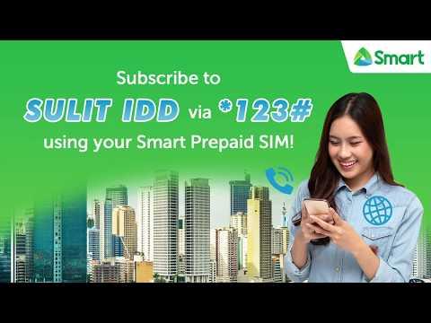 Register to Smart SULIT IDD via *123#