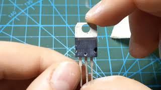 как определить затертую маркировку транзистора(микросхемы)?