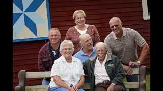 Joan Bartlett 80th Birthday Celebration Family Photo Slideshow