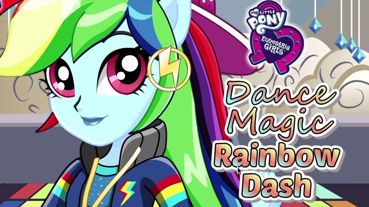 Equestria Girls Coloring Rainbow Dash - My Little Pony Games