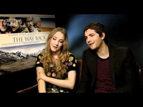 Saoirse Ronan and Jim Sturgess on 'The Way Back'