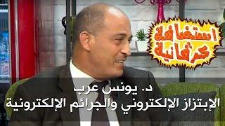 د. يونس عرب - الإبتزاز الإلكتروني والجرائم الإلكترونية