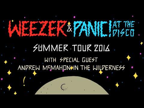 Weezer & Panic! At The Disco Summer Tour 2016