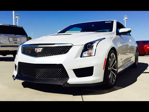 2016 Cadillac ATS-V Coupe Full Review /Start Up /Exhaust /Short Drive