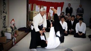 Aikido Doshu Ueshiba Moriteru - Kagamibiraki 2016