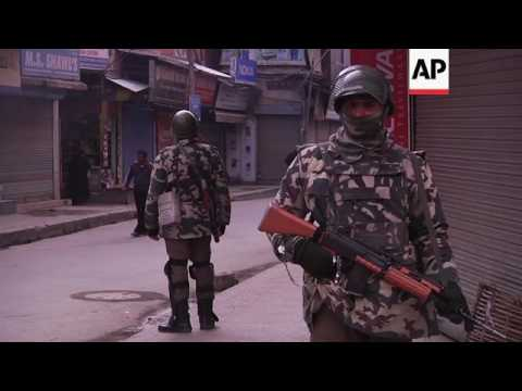 Curfew after Kashmiri separatists call for strike
