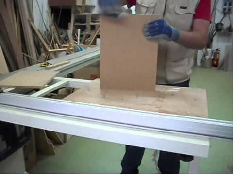 Trabajo en taller de carpinteria de youtube for Carpinteria en madera