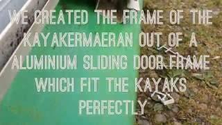 Making of: THE KAYAKERMAERAN ( kayak catamaran)