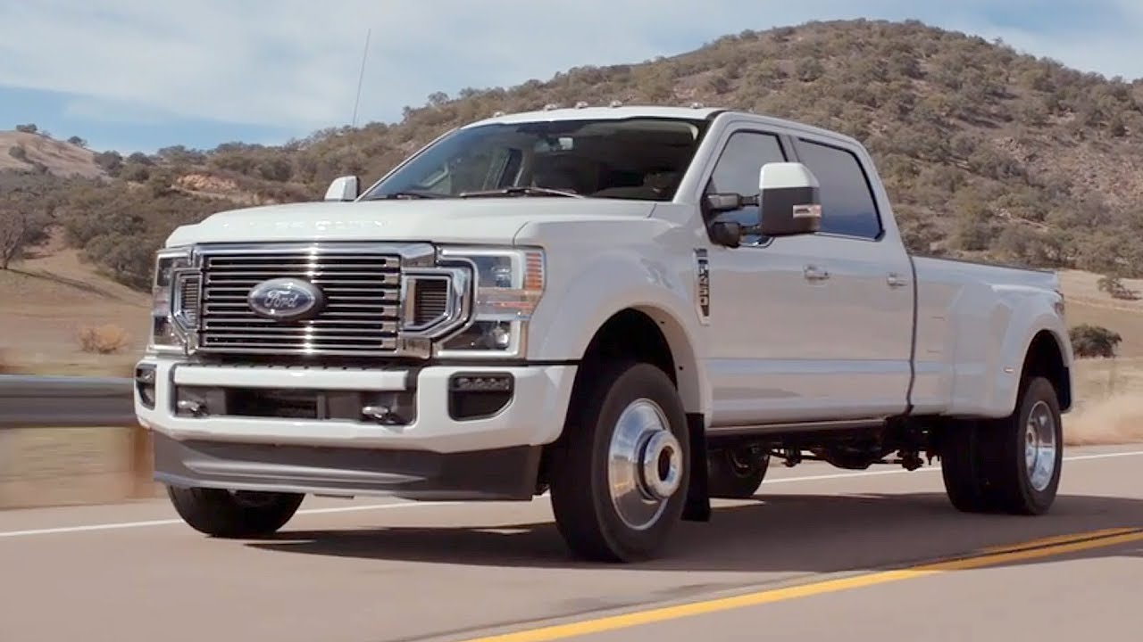 2020 Ford F-450 Powertrain, Platinum, Super Duty, And Release Date >> 2020 Ford F 450 Super Duty Limited Driving Interior Exterior