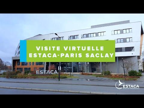 ESTACA Campus Paris-Saclay - Visite virtuelle commentée