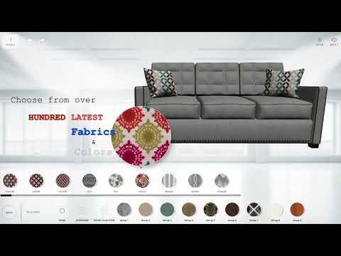Custom your dream sofa on Gardena Sofa website