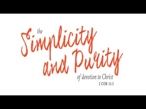 Simplicity 070717: Time To Stop Overthinking The Gospel! Get Back To ChildLike Faith.