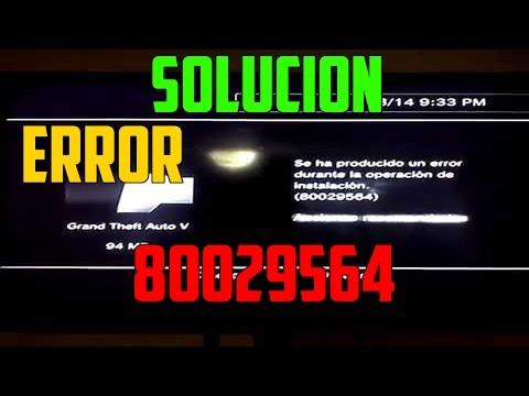 SOLUCIÓN AL ERROR 80029564 - 100% SOLUCIÓN